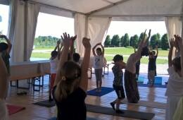 Yoga bambini – Giugno 2016